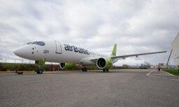Из-за проверок самолетов CS300 airBaltic отменила три рейса, нарушив планы 372 пассажиров