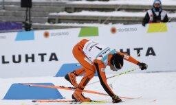 ВИДЕО: Добравшийся до ЧМ венесуэльский лыжник всех рассмешил своим катанием