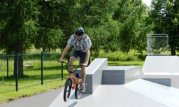 Велосипедист получил серьезные травмы в рижском скейтпарке