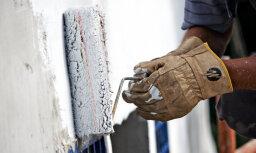 Būvniecības apjoms Latvijā deviņos mēnešos sarūk par 20,4%