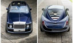 'Rolls-Royce' kādam klientam izgatavojis unikālu spēkratu 'Sweptail'