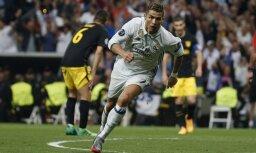 Ronaldo. Real vs Atletico - UEFA Champions League