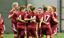 Paziņots Latvijas sieviešu futbola izlases sastāvs pārbaudes turnīram Kiprā