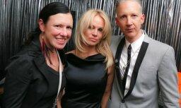 Foto: Pamela Andersone pārsteidz ar izsmalcinātību