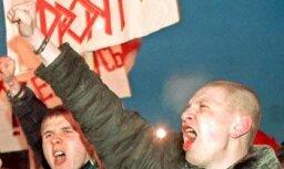 Protesta akcija pret Lukašenko