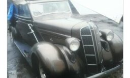 Рига: из автосервиса украли раритетный Dodge 1936 года