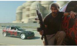 Video: Irākā par godu pilsētas atbrīvošanai no 'Daesh' sarīko BMW driftu
