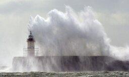 В Балтийском море волны могут достигать четырех метров в высоту