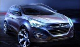 'Hyundai ix35' apvidnieks aizstās līdzšinējo 'Tuscon'