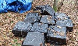 Robežsargi konfiscē 50 000 kontrabandas cigarešu