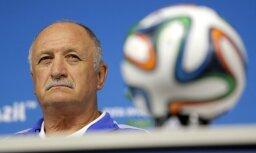 Skolari atlaiž no Brazīlijas futbola izlases trenera amata