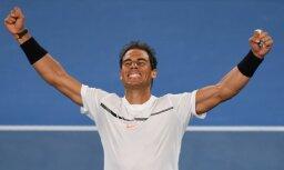 Nadals ar uzvaru atzīmē savu 1000. karjeras spēli