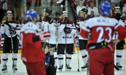 Latvijas izlasi mačā pret mājiniekiem čehiem iegāž noraidījumi