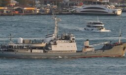 Корабль ВМФ России затонул после столкновения у берегов Турции