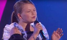Latviešu meitenīte neiekļūst Ukrainas 'Golos' finālā