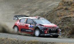 Video: Mīkes izmisīgā cīņa caur auto stāvvietu par uzvaru Meksikas WRC rallijā