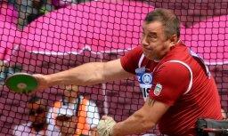 Apinis izcīna sudraba godalgu Eiropas čempionātā diska mešanā