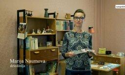 Foto no karjeras sākuma. Marija Naumova par savu bildi 'Gadsimta albumā'