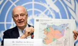 Sīrijas miera sarunas Ženēvā beidzas bez progresa
