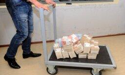 Finanšu policijā atklāti 100 tūkstoši eiro, par kuriem gadiem nenotiek izmeklēšana