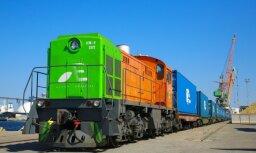 Латвия направила второй контейнерный поезд в Китай по уже испробованному маршруту