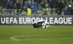 Belgradas 'Partizan' UEFA uz trim gadiem izslēdz no Eirokausiem