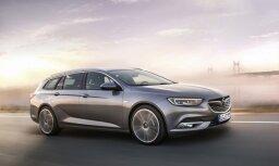 Vācijā jaunā 'Opel Insignia' maksās no 26 tūkstošiem eiro