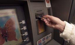 Ar maksājumu kartēm veikto darījumu apmērs pērn pieaug par 3,6%