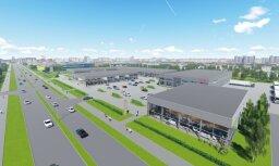 Rīgā uzsākta Baltijā lielākā interjera un dizaina priekšmetu tematiskā kvartāla 'Decco centrs' būvniecība