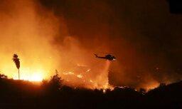Kalifornijā savvaļas ugunsgrēks kļuvis par ceturto lielāko štata vēsturē