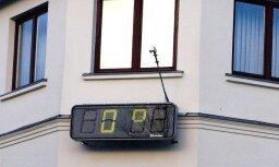 Ventspilī novērotas anomālas temperatūras svārstības