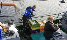 Эксперт: следующий год станет болезненным для трети латвийских рыболовецких предприятий