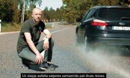 Video: LVC uzsāk drošas braukšanas kampaņu 'Esi pie stūres – atceries fiziku!'