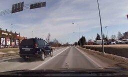 Video: Siguldā šoferis ārdās ar apvidus auto