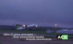 Saistībā ar skrejceļa rekonstrukciju slēgs Viļņas lidostu; 'airBaltic' lidos uz Kauņu