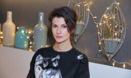 Aktrise Kristīne Belicka saderinājusies ar mūziķi