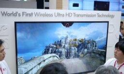 'LG' demonstrē pirmo 'Ultra HD' bezvadu pārraides tehnoloģiju