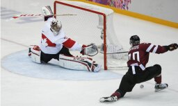 Сборная Латвии по хоккею сыграет с олимпийской сборной Канады