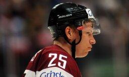 Džeriņš paliek bez punktiem komandas pārliecinoši uzvarētā Čehijas čempionāta spēlē