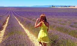 Vasaras ceļojuma stāsts: lavandu smarža Provansas saules pielietajos laukos