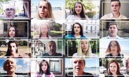 Noskaties! Katrīna Neiburga radījusi Dziesmu svētkiem veltītu videomākslas darbu