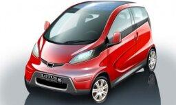 'Lotus' izstrādājis nākotnes elektromobiļa prototipu