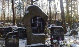 Vandālisms Jaunajos ebreju kapos
