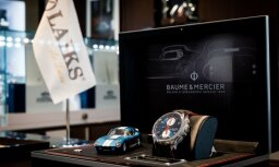 'Baume & Mercier' vīriešu hronogrāfs 'Clifton Club Shelby Cobra' pulksteņu salonos 'Laiks'
