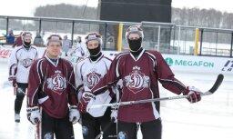 Rīgas 'Dinamo' hokejisti 'Winter Ice Break' mačā mērosies spēkiem ar Minskas 'Dinamo'