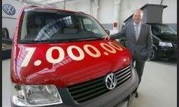 'VW' izgatavo miljono 'T5' komercautomobili
