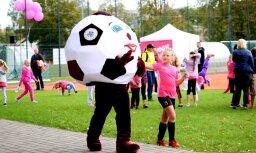 Futbola un sporta mīļi aicināti pieteikt Futbola dienas pasākumus