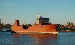 Rīgā uzbūvēts kuģis Norvēģijai