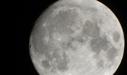 Foto: Mēness piecdesmitkārtīgā pietuvinājumā