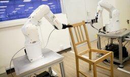 Mākslīgais intelekts: Robots saliek IKEA krēslu deviņās minūtēs